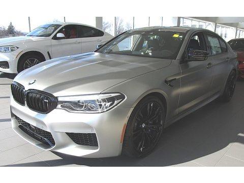 Donington Grey Metallic 2019 BMW M5 Competition