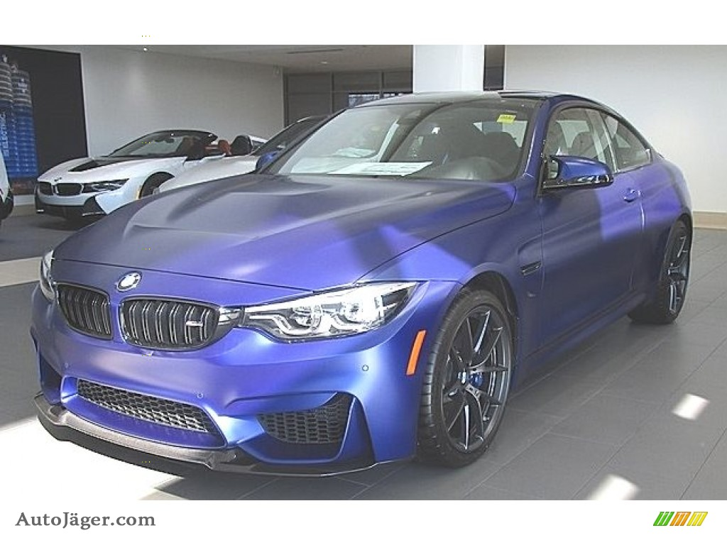 2019 Bmw M4 Coupe In Frozen Dark Blue Ii C09416 Auto Jager German Cars For Sale In The Us