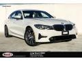 BMW 3 Series 330i Sedan Alpine White photo #1
