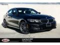 BMW 3 Series 330i Sedan Black Sapphire Metallic photo #1