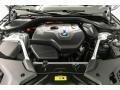 BMW 5 Series 530e iPerformance Sedan Mineral White Metallic photo #8