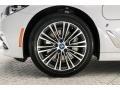 BMW 5 Series 530e iPerformance Sedan Mineral White Metallic photo #9