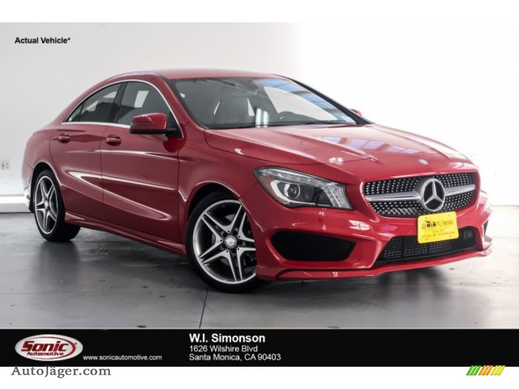 2015 CLA 250 - Jupiter Red / Black photo #1