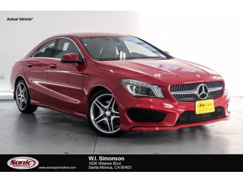 Jupiter Red 2015 Mercedes-Benz CLA 250