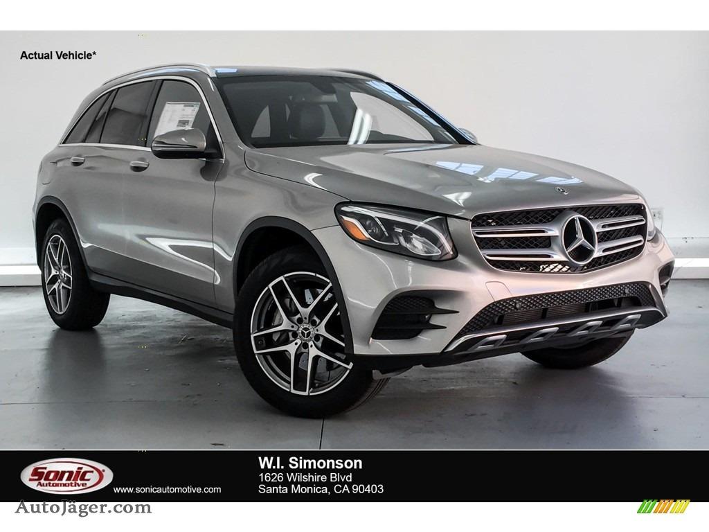 2019 GLC 300 - Mojave Silver Metallic / Black photo #1
