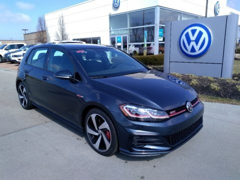 Dark Iron Blue Metallic 2019 Volkswagen Golf GTI SE