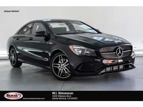 Night Black 2019 Mercedes-Benz CLA 250 Coupe