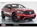 Mercedes-Benz GLC AMG 63 S 4Matic Coupe designo Cardinal Red Metallic photo #1