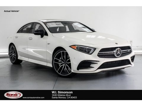 designo Diamond White Metallic 2019 Mercedes-Benz CLS AMG 53 4Matic Coupe