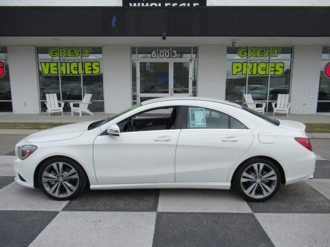 Cirrus White 2014 Mercedes-Benz CLA 250