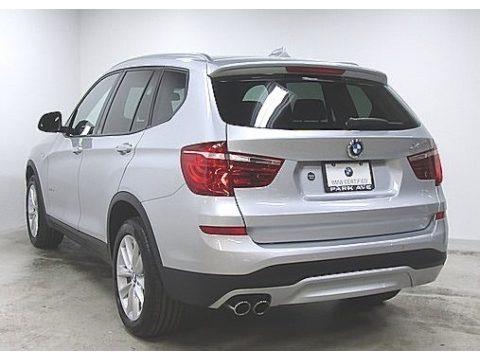 Glacier Silver Metallic 2016 BMW X3 xDrive28i