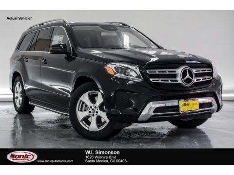 Black 2019 Mercedes-Benz GLS 450 4Matic