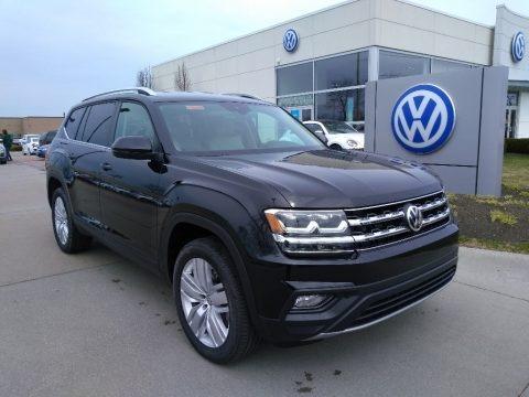 Deep Black Pearl 2019 Volkswagen Atlas SE 4Motion