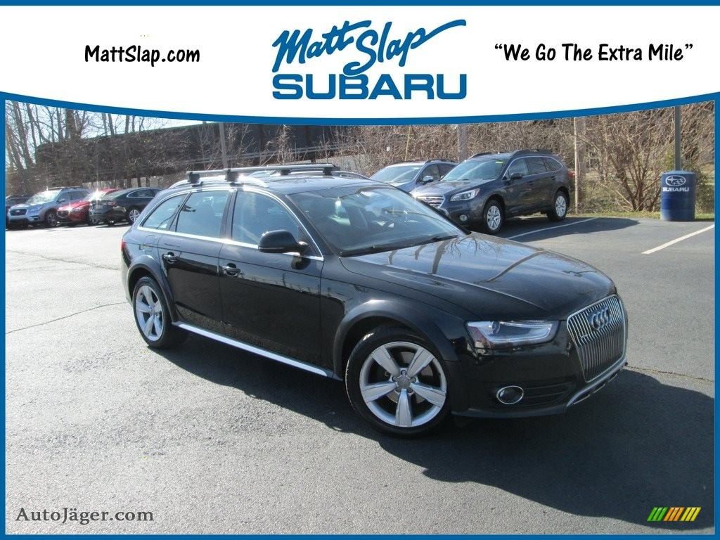 Phantom Black Pearl Effect / Black Audi Allroad 2.0T quattro Avant