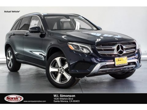 Lunar Blue Metallic 2019 Mercedes-Benz GLC 300 4Matic