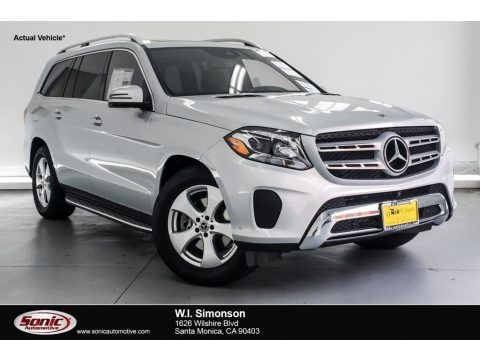 Iridium Silver Metallic 2019 Mercedes-Benz GLS 450 4Matic