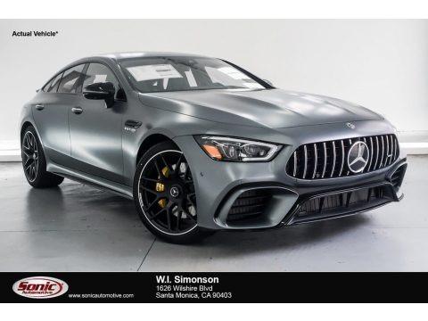 designo Selenite Grey Magno (Matte) 2019 Mercedes-Benz AMG GT 63 S