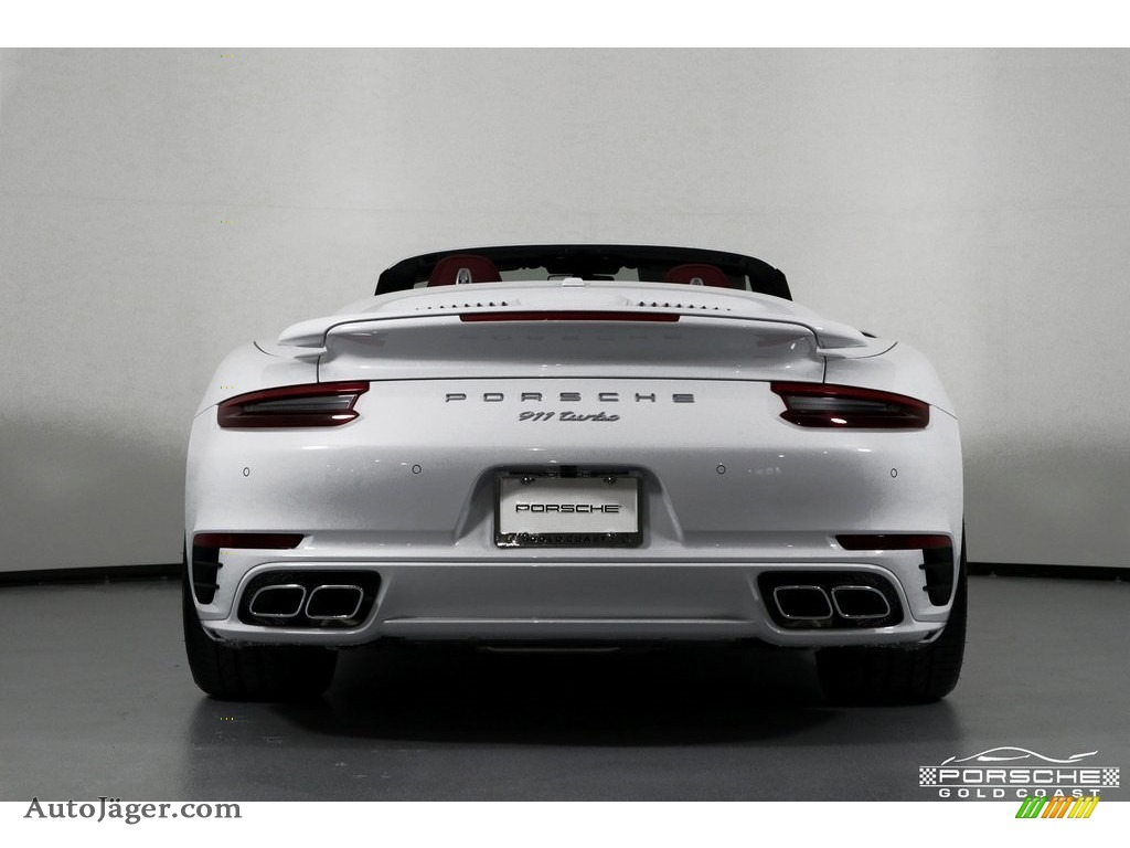 2019 911 Turbo Coupe - White / Bordeaux Red photo #6