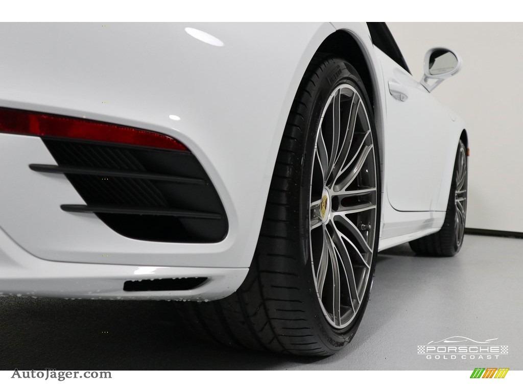 2019 911 Turbo Coupe - White / Bordeaux Red photo #10