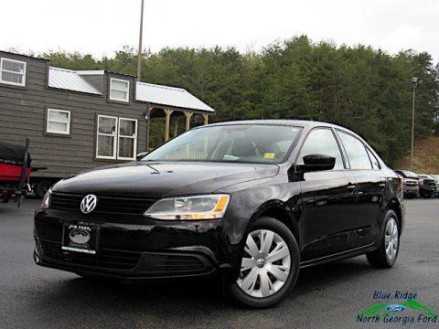 Black 2014 Volkswagen Jetta TDI Sedan