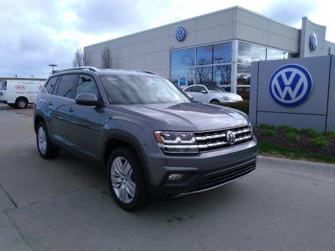 Platinum Gray Metallic 2019 Volkswagen Atlas SE 4Motion