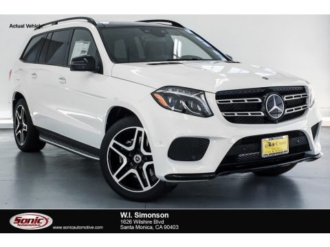 Polar White 2019 Mercedes-Benz GLS 550 4Matic