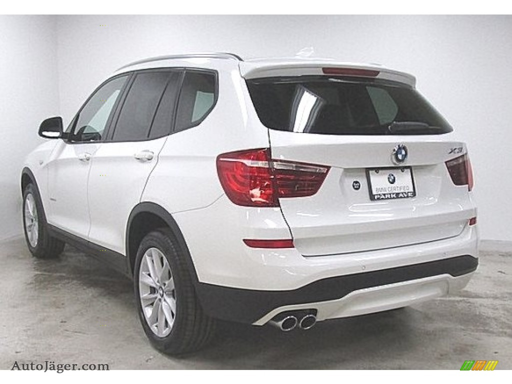 2016 X3 xDrive28i - Alpine White / Sand Beige photo #1