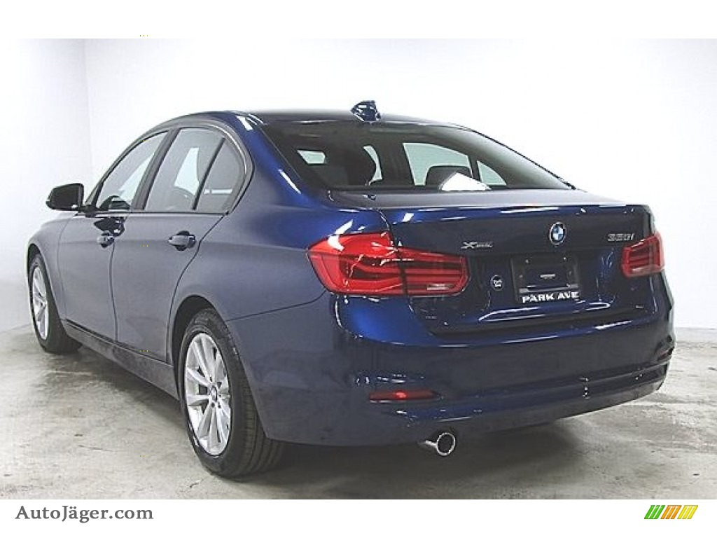2018 3 Series 320i xDrive Sedan - Mediterranean Blue Metallic / Black photo #1
