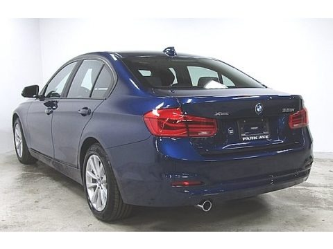 Mediterranean Blue Metallic 2018 BMW 3 Series 320i xDrive Sedan