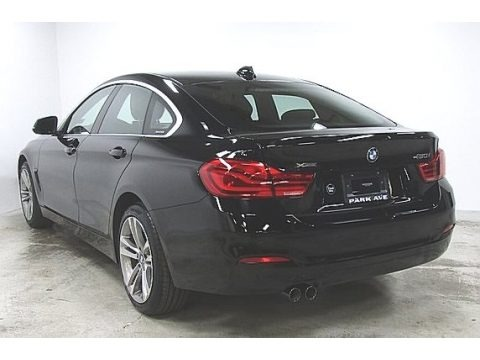 Jet Black 2019 BMW 4 Series 430i xDrive Gran Coupe