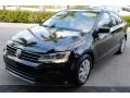 Volkswagen Jetta S Black photo #4
