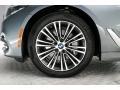 BMW 5 Series 540i Sedan Bluestone Metallic photo #9