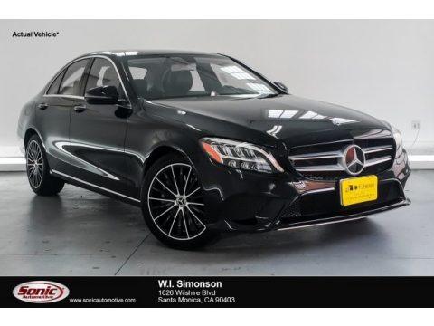 Black 2019 Mercedes-Benz C 300 Sedan