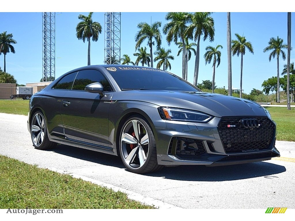 2018 RS 5 2.9T quattro Coupe - Daytona Gray Pearl / Black/Rock Gray Stitching photo #1