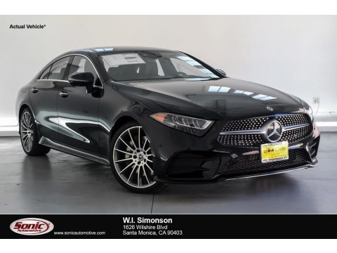 Black 2019 Mercedes-Benz CLS 450 Coupe