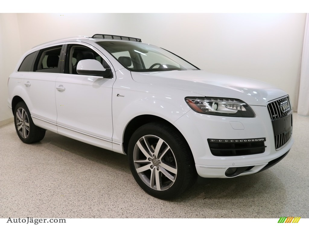 2014 Q7 3.0 TFSI quattro - Glacier White Metallic / Black photo #1