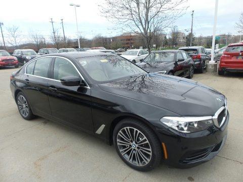 Black Sapphire Metallic 2019 BMW 5 Series 540i xDrive Sedan
