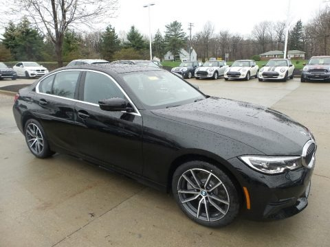 Jet Black 2019 BMW 3 Series 330i xDrive Sedan