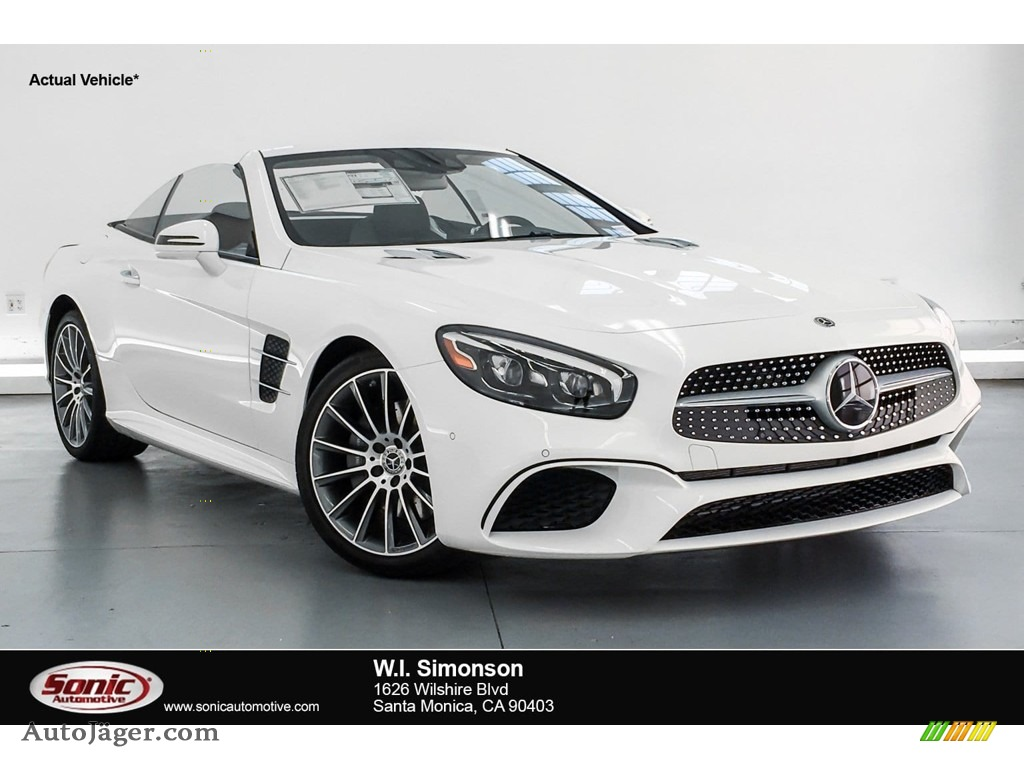 2019 SL 450 Roadster - Polar White / Black photo #1
