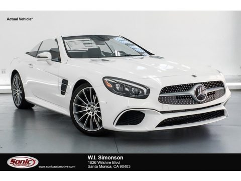 Polar White 2019 Mercedes-Benz SL 450 Roadster