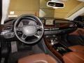 Audi A8 L 4.0T quattro Brilliant Black photo #13