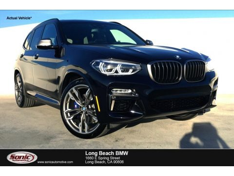 Carbon Black Metallic 2019 BMW X3 M40i