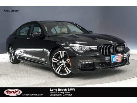 Black Sapphire Metallic 2019 BMW 7 Series 740i Sedan