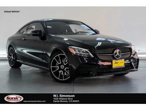 Black 2019 Mercedes-Benz C 300 Coupe
