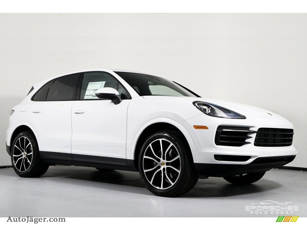 2019 Cayenne  - White / Black/Bordeaux Red photo #1