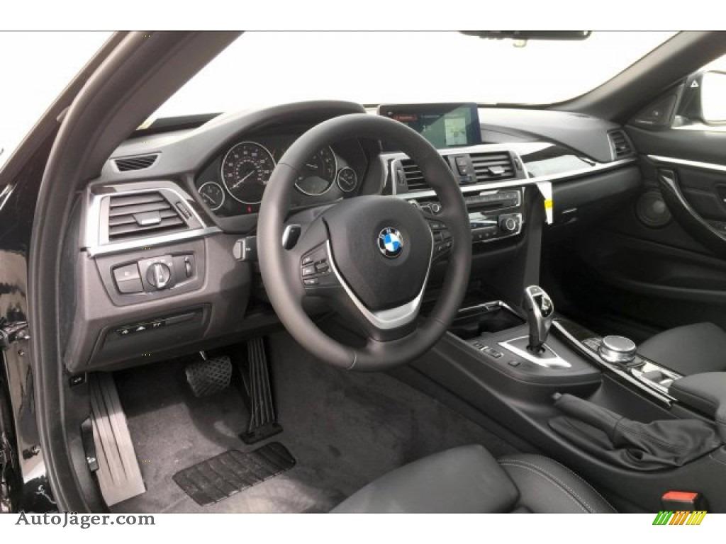 2020 4 Series 440i Convertible - Black Sapphire Metallic / Black photo #6