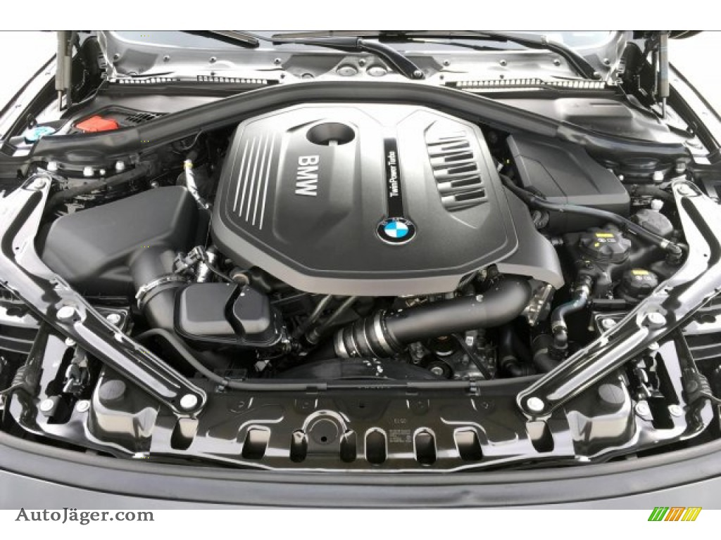 2020 4 Series 440i Convertible - Black Sapphire Metallic / Black photo #9
