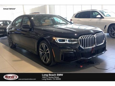 Carbon Black Metallic 2020 BMW 7 Series 750i xDrive Sedan