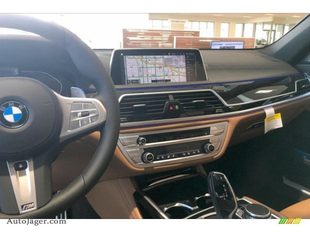 2020 7 Series 750i xDrive Sedan - Carbon Black Metallic / Cognac photo #5