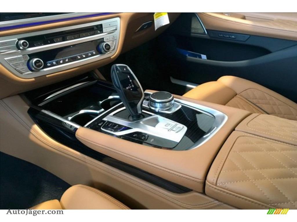 2020 7 Series 750i xDrive Sedan - Carbon Black Metallic / Cognac photo #7